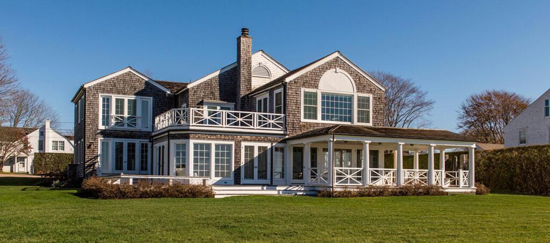 Long Island Sound Shingle Style